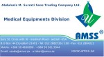 Abdulaziz M. Surrati Sons Trading Company: Medical Equipments Division